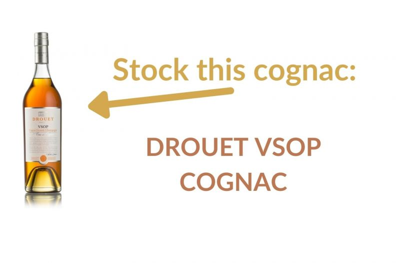 Photo for: Stock this cognac:  Drouet VSOP Cognac