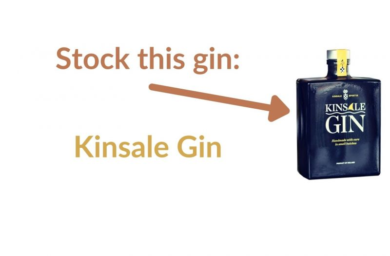 Photo for: Stock this gin: Kinsale Gin