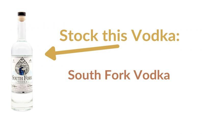 Photo for: Stock this Vodka: South Fork Vodka