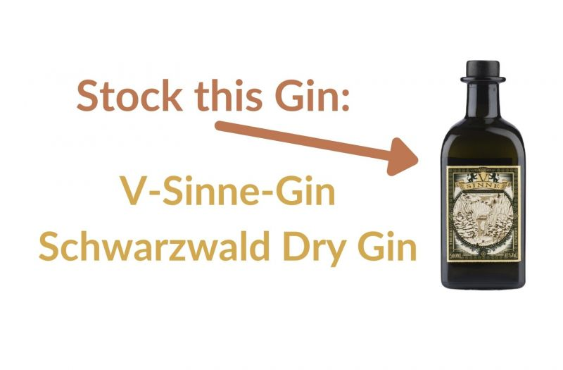 Photo for: Stock this Gin: V-Sinne-Gin Schwarzwald Dry Gin