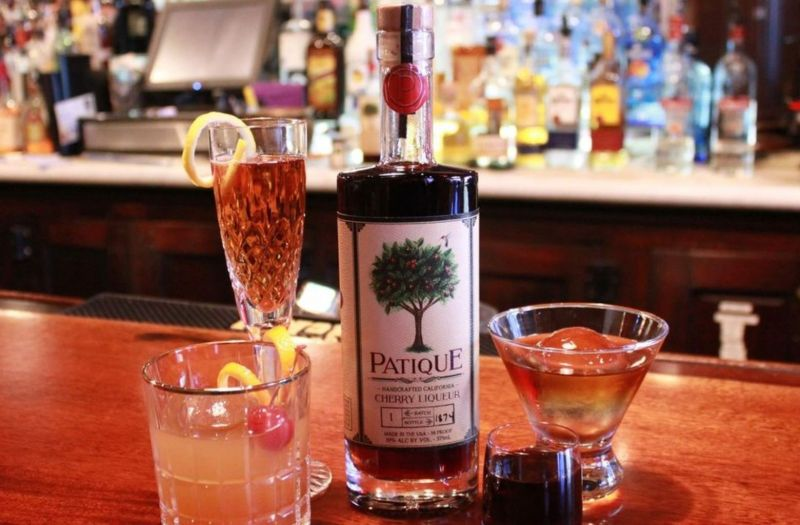 Photo for: Patique: California Cherry Liqueur