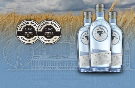Photo for: UK's Vodka Comes up Top in the 2021 London Spirits Competition