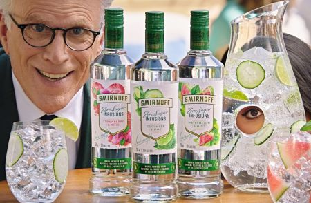 Photo for: Smirnoff Zero Sugar Infusions smacks the US beverage industry