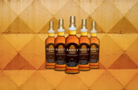 Photo for: Amrut Fusion Single Malt Whisky Crowned World Whisky of the Year