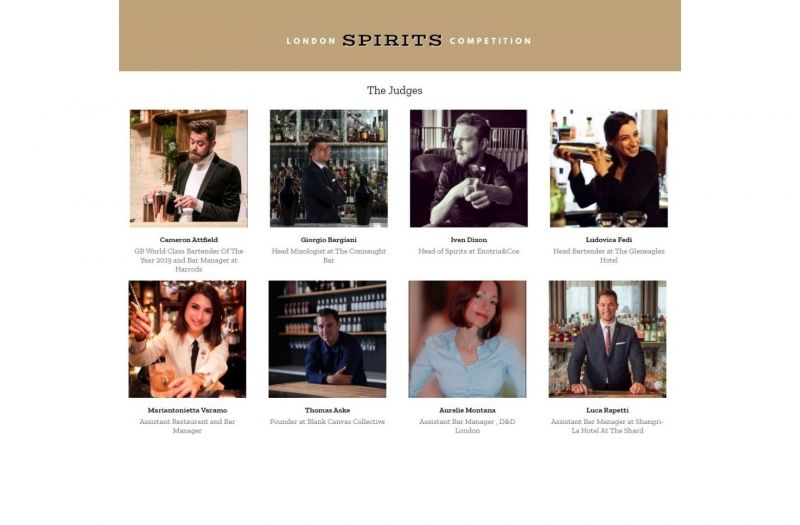 Photo for: Top bartenders and trade buyers to judge 2021 London Spirits Competition